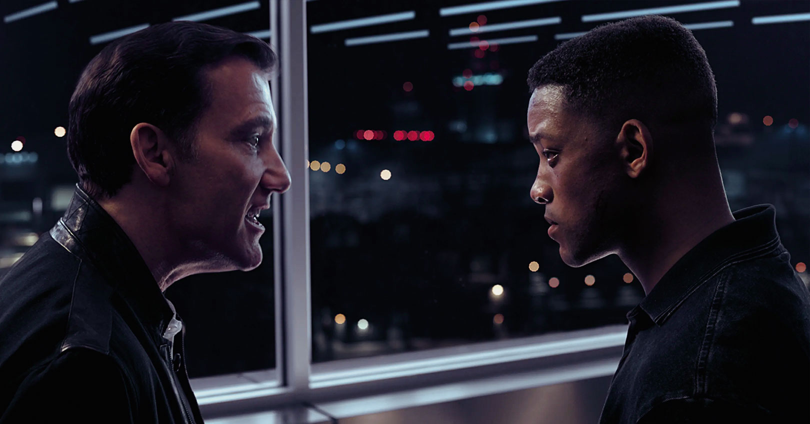 Gemini Man - Clive Owen and Will Smith