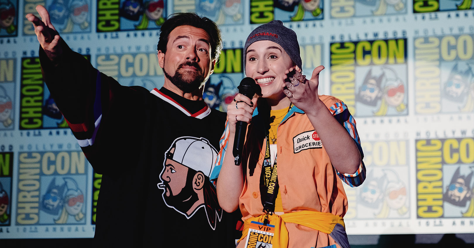 Jay & Silent Bob Reboot - Kevin Smith and Harley Quinn Smith