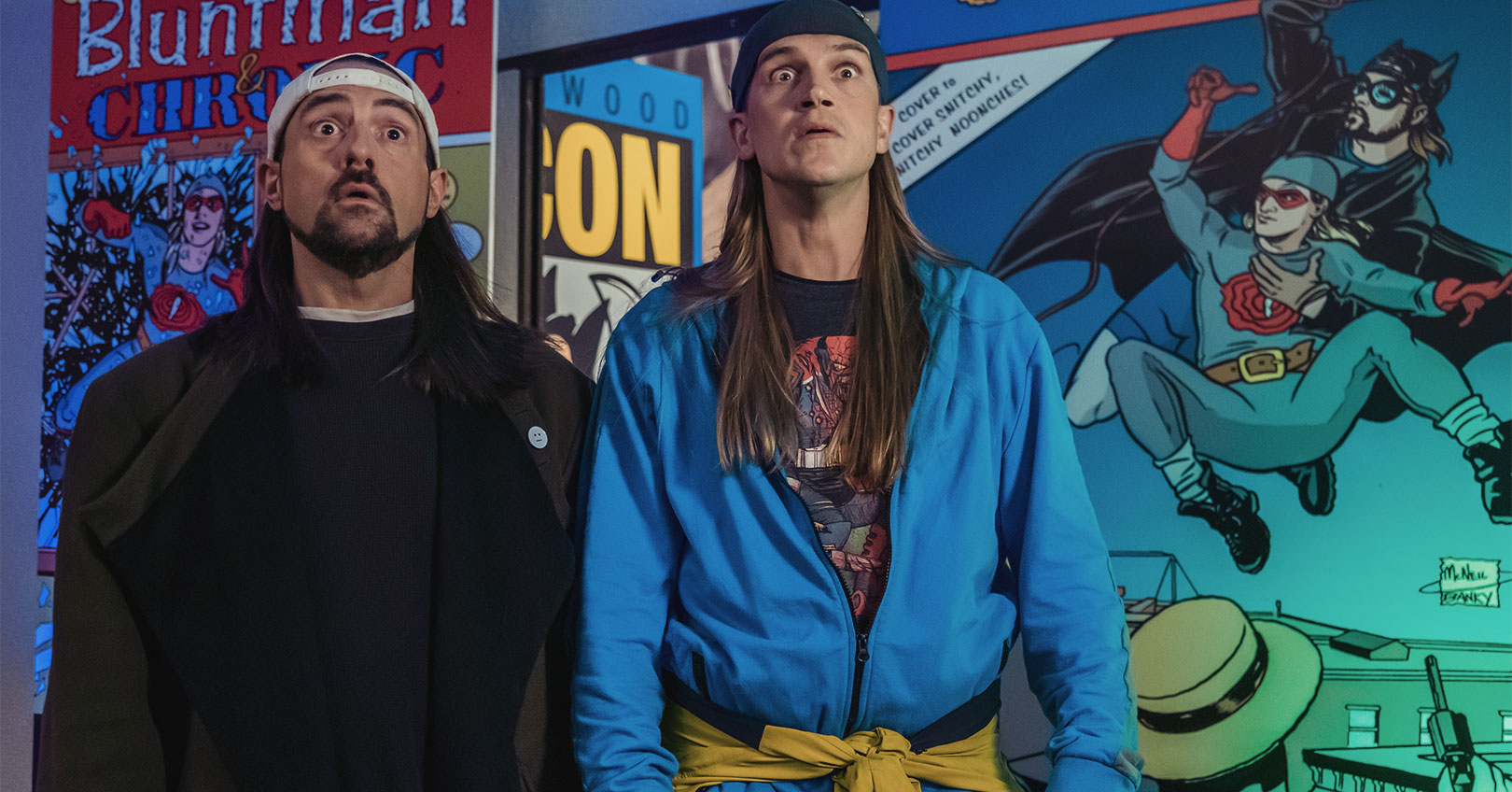 Jay & Silent Bob Reboot - Kevin Smith and Jason Mewes