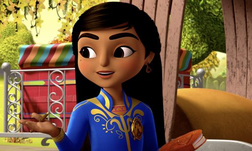 First look at the characters of Disney Junior's Mira, Royal Detective