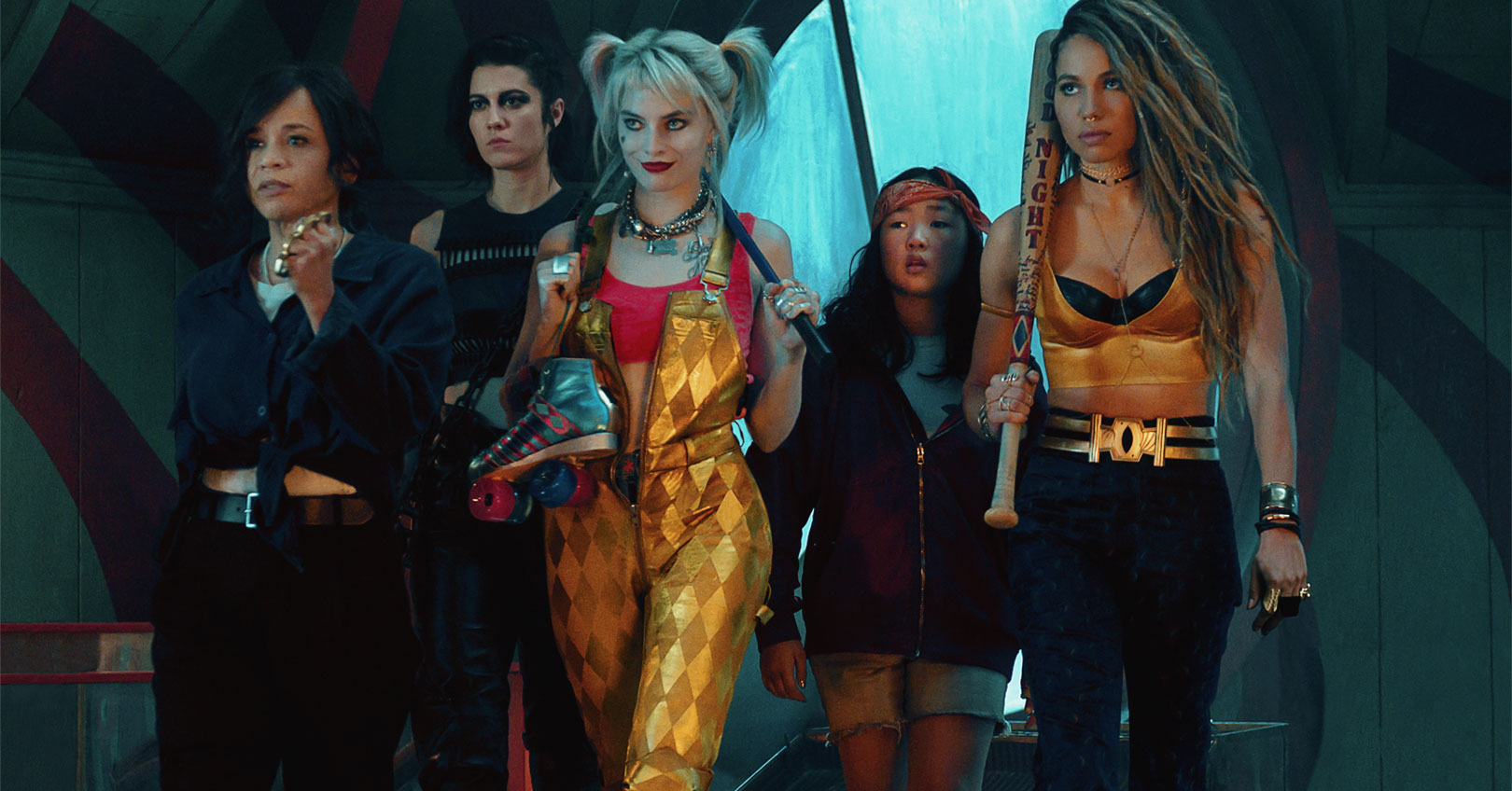 Birds of Prey (and the Fantabulous Emancipation of One Harley Quinn) - Rosie Perez, Mary Elizabeth Winstead, Margot Robbie, Ella Jay Basco, and Jurnee Smollett-Bell