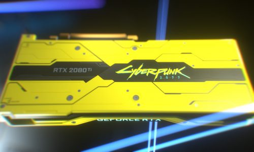 This Cyberpunk 2077 GeForce RTX 2080 Ti graphics card isn't for sale