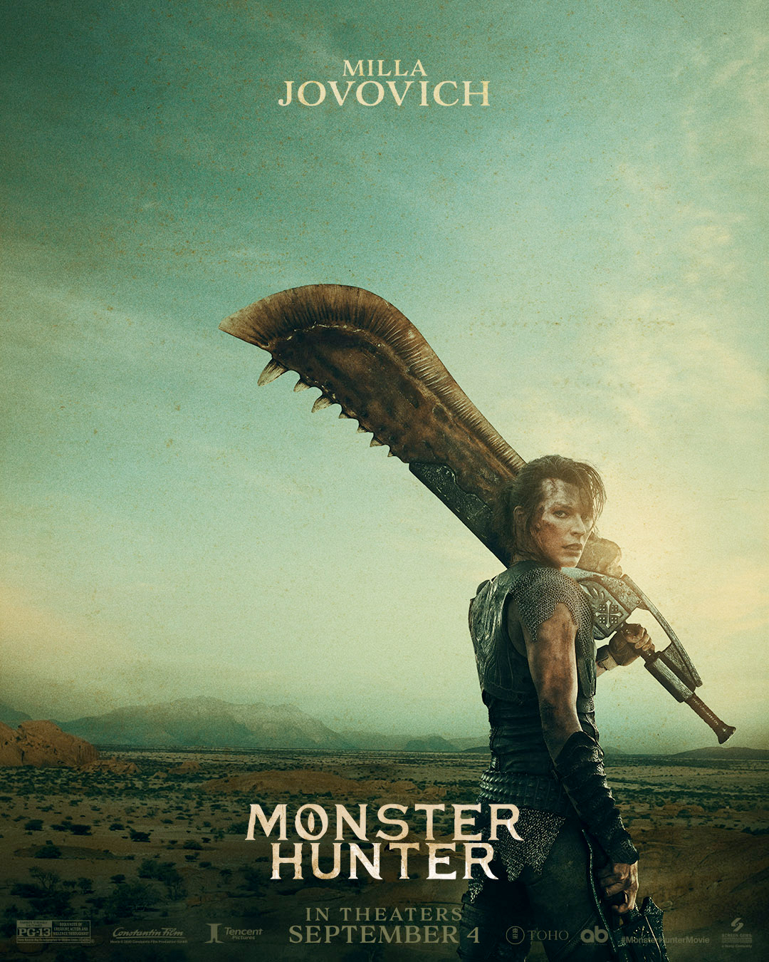 Milla Jovovich Monster Hunter