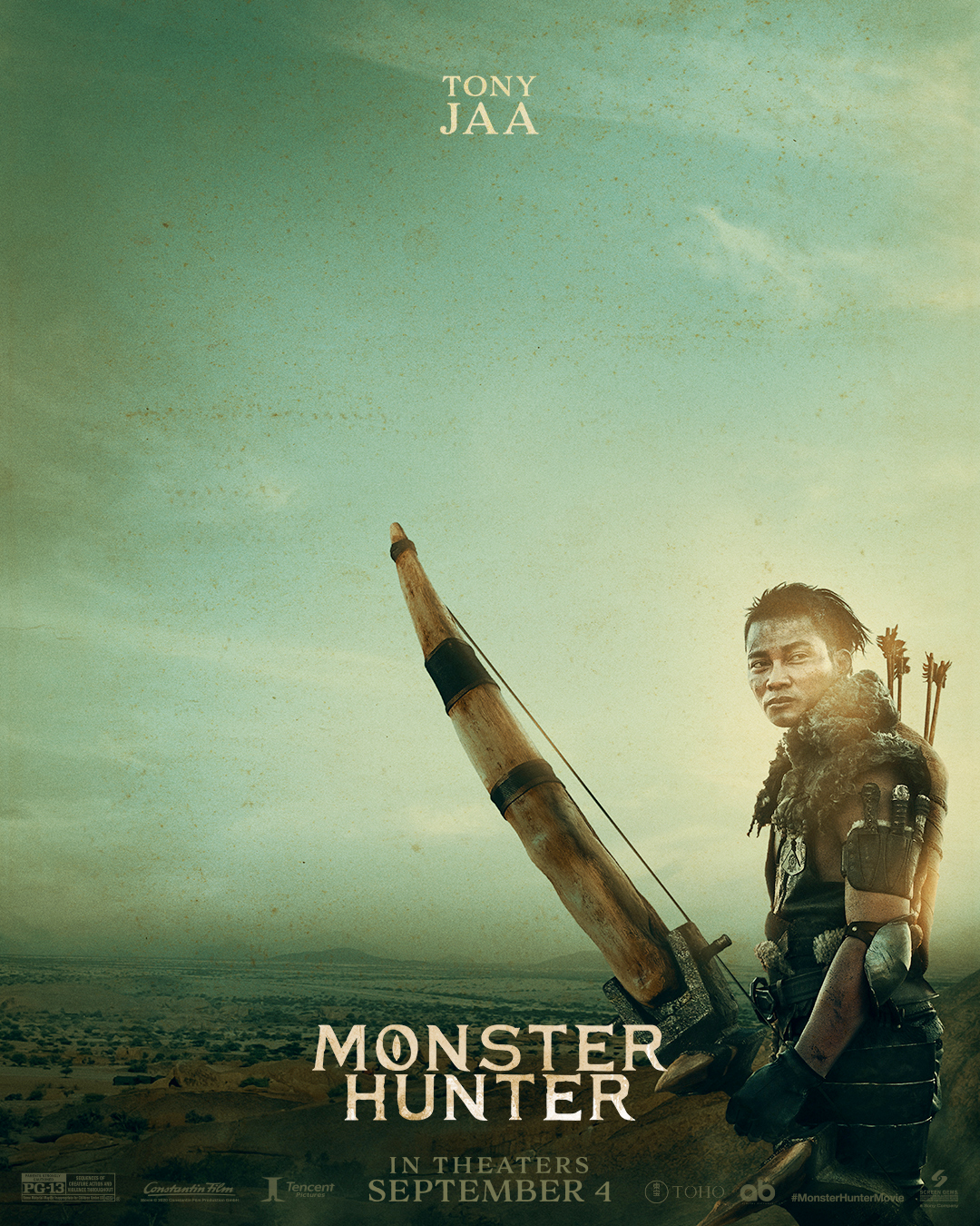 Monster Hunter Tony Jaa
