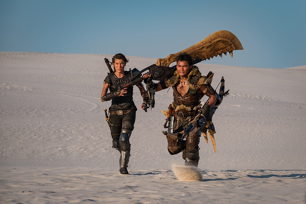 Monster Hunter Still Tony Jaa Milla Jovovich