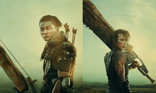 Monster Hunter teaser posters have Tony Jaa and Milla Jovovich wielding giant weapons