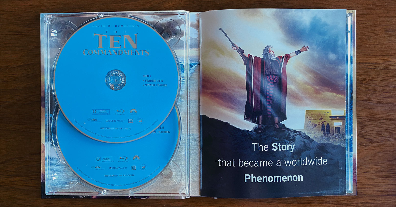 The Ten Commandments DigiBook