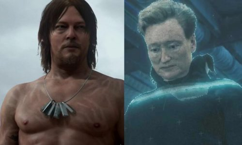 Norman Reedus and Conan share Death Stranding memories