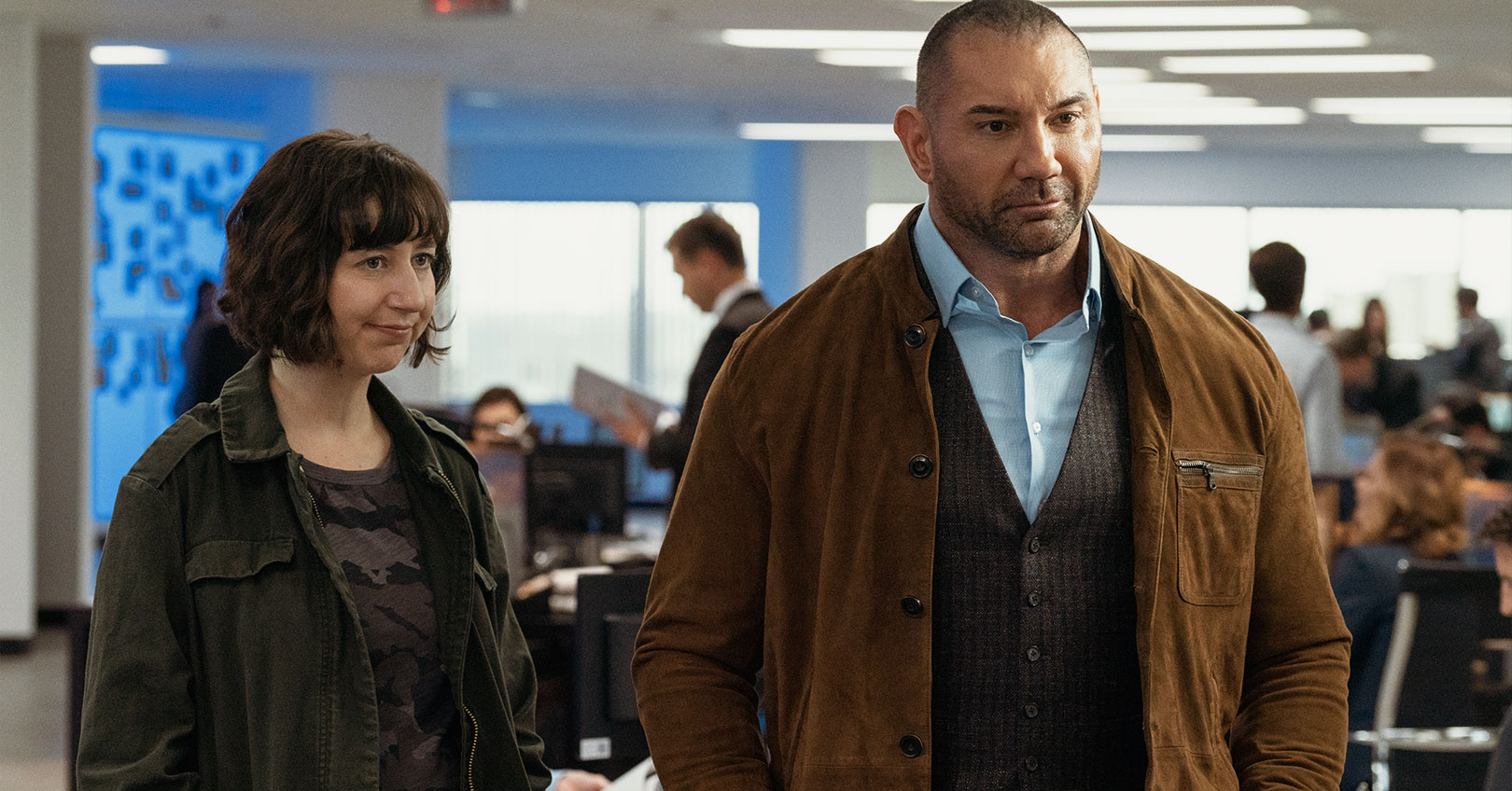 My Spy - Kristen Schaal and Dave Bautista