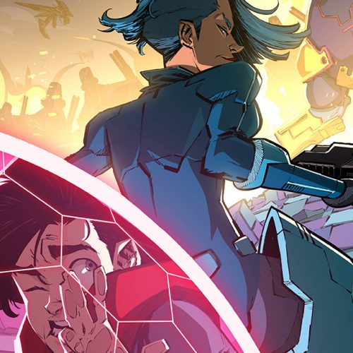 DJ Don Diablo's sci-fi comic series, Hexagon, teases new cover art and pages