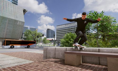 Skater XL: Skating in Downtown LA map