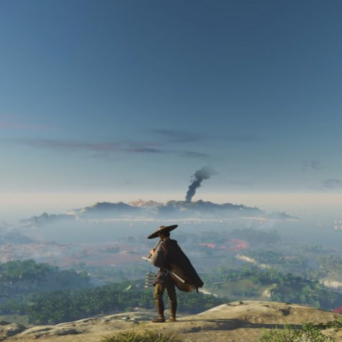 PlayStation features 18-minute Ghost of Tsushima gameplay and Unreal Engine V tech demo