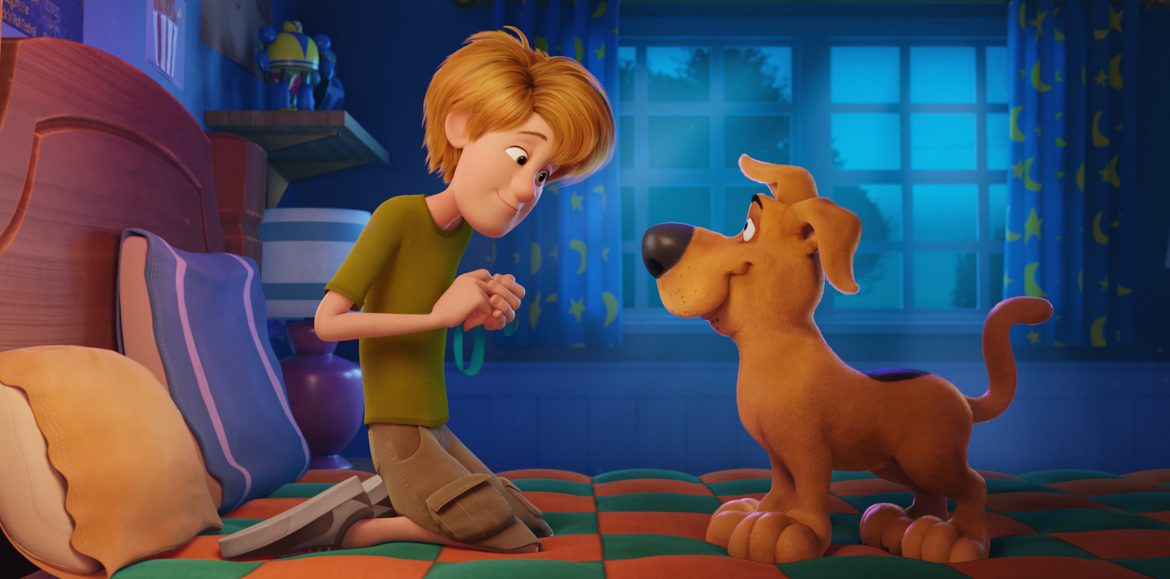 Iain Armitage on playing young Shaggy and practicing his 'zoinks' in Scoob!