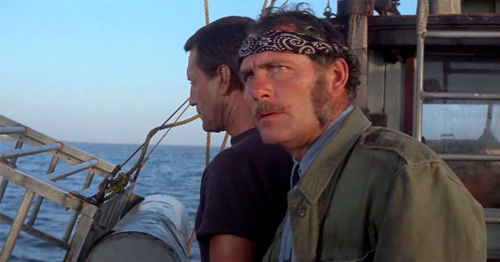 Jaws - Roy Scheider and Robert Shaw