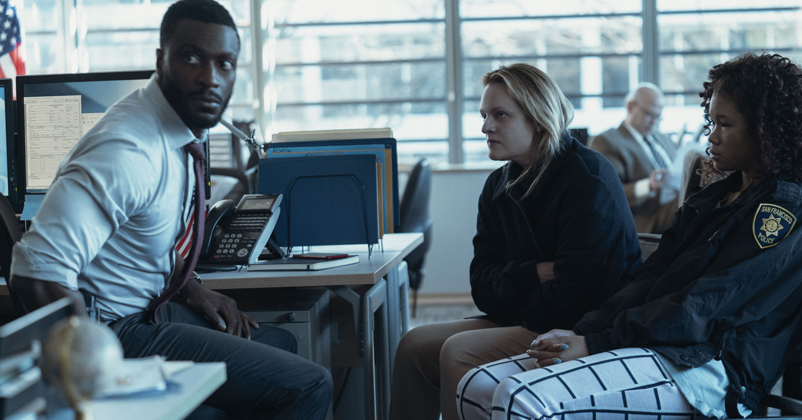 The Invisible Man - Aldis Hodge, Elisabeth Moss, and Storm Reid