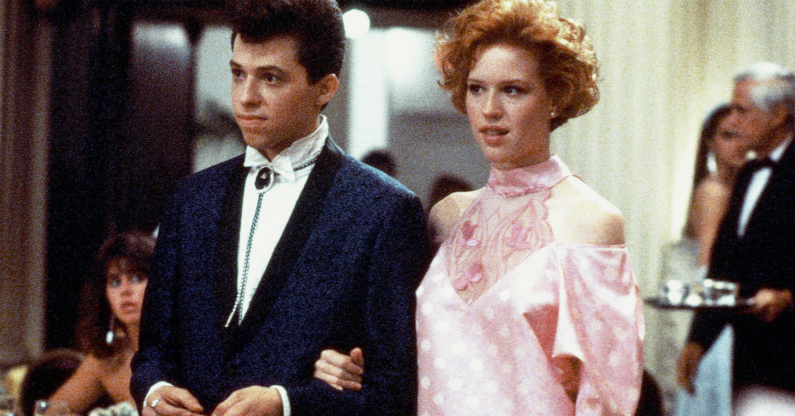 Pretty in Pink - Jon Cryer and Molly Ringwald