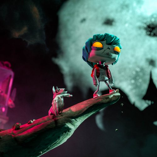 Gloomy Eyes is a beautiful, gloomy and enveloping VR animated movie