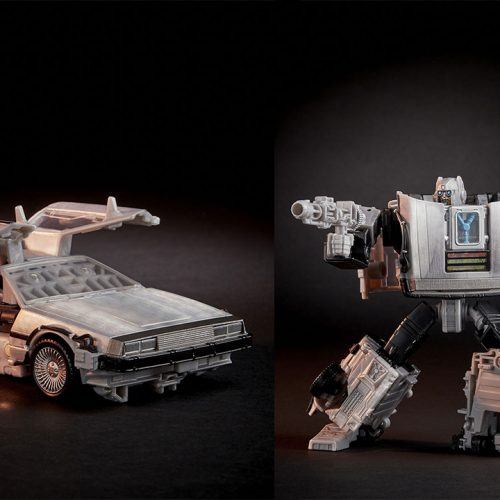 14 images of Back to the Future and Transformers' DeLorean figure, Gigawatt, revealed