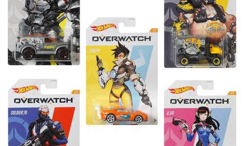 Overwatch Hot Wheels collection sells out