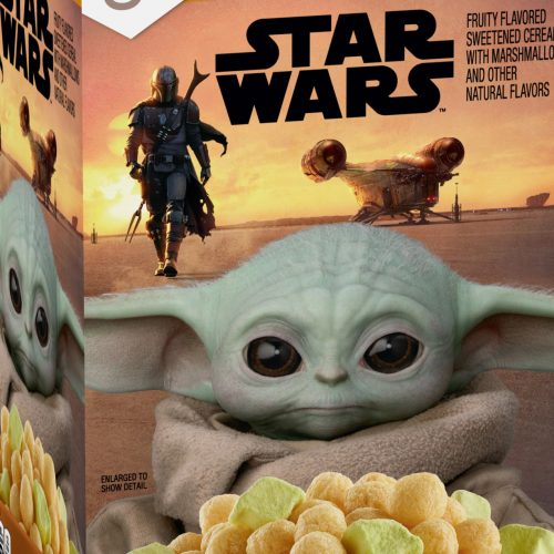 The Mandalorian's 'Baby Yoda' cereal will be out this month