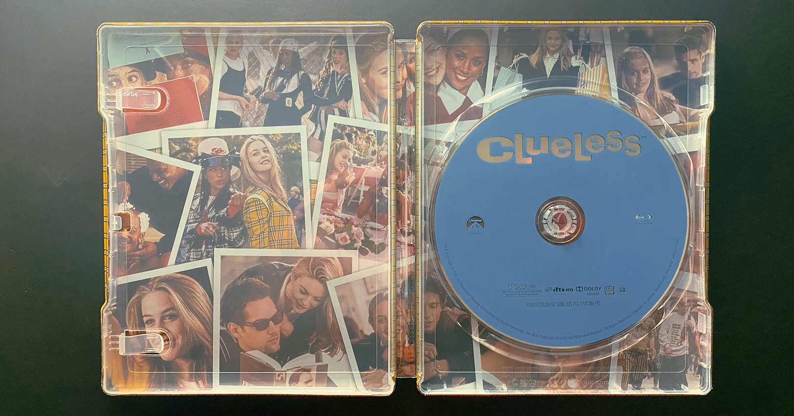 Clueless - Inside of the Steelbook