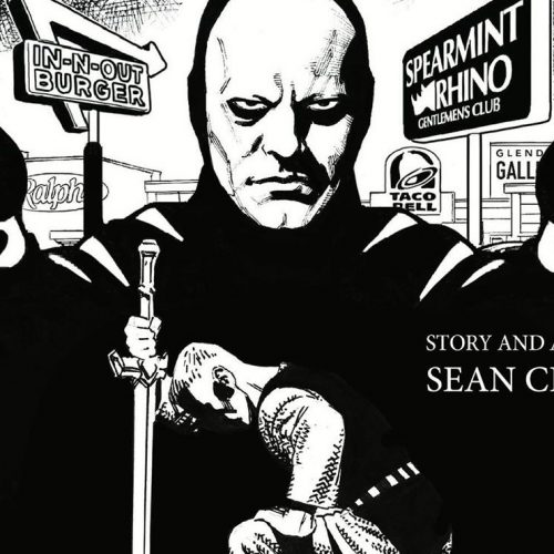 Artist Sean Chen on writing his first comic about a man becoming the Grim Reaper's Wingman