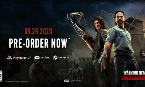 Here's when Survios' The Walking Dead Onslaught VR game will be released, plus new gameplay trailer