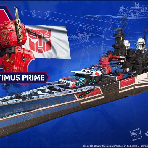 Optimus Prime and Transformers skins coming to World of Warships