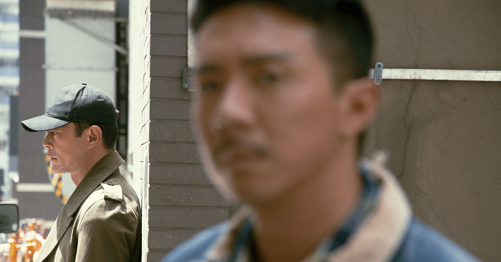 A Witness Out of the Blue - Louis Koo and Louis Cheung
