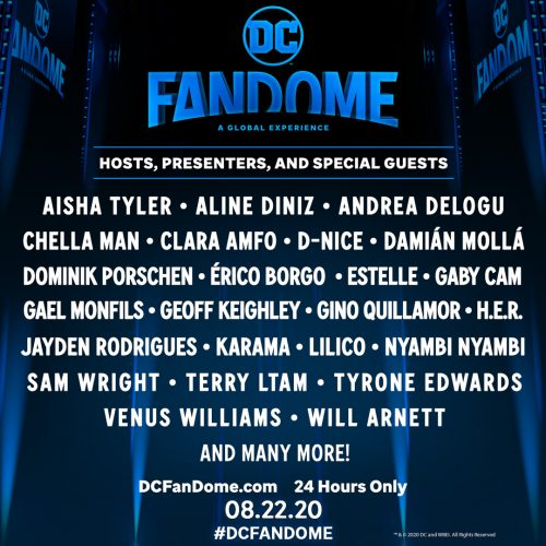 DC FanDome: Cast from The Suicide Squad, The Batman, Wonder Woman 1984, Black Adam plus hundreds of talent revealed