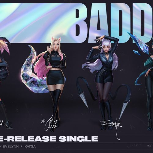 League of Legends' virtual pop group, K/DA, is back with 'The Baddest'