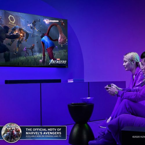 Vizio runs weekly Marvel's Avengers, TV, sound bar giveaway until end of 2020