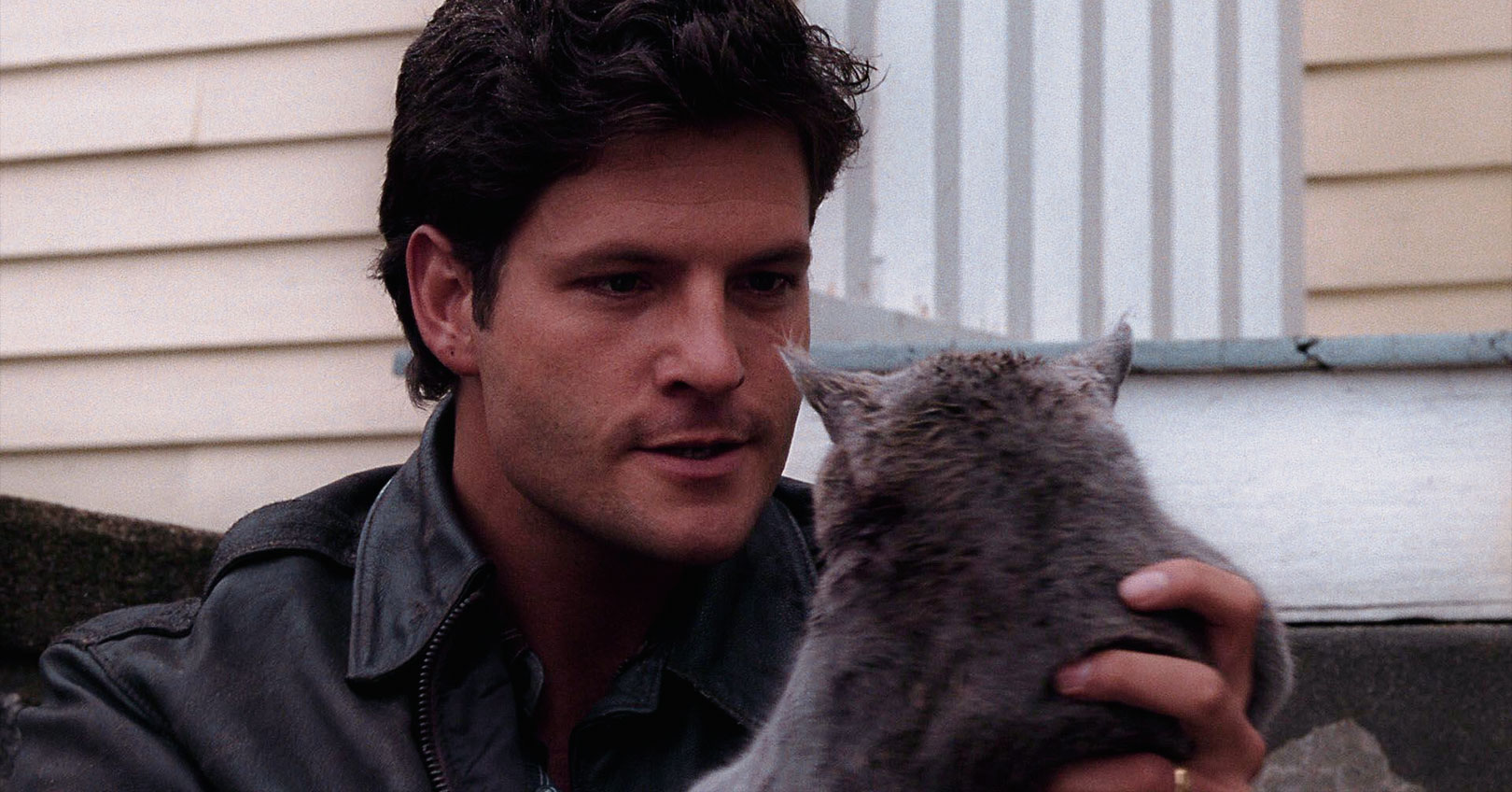 Pet Sematary (1989) - Dale Midkiff and Church the Cat