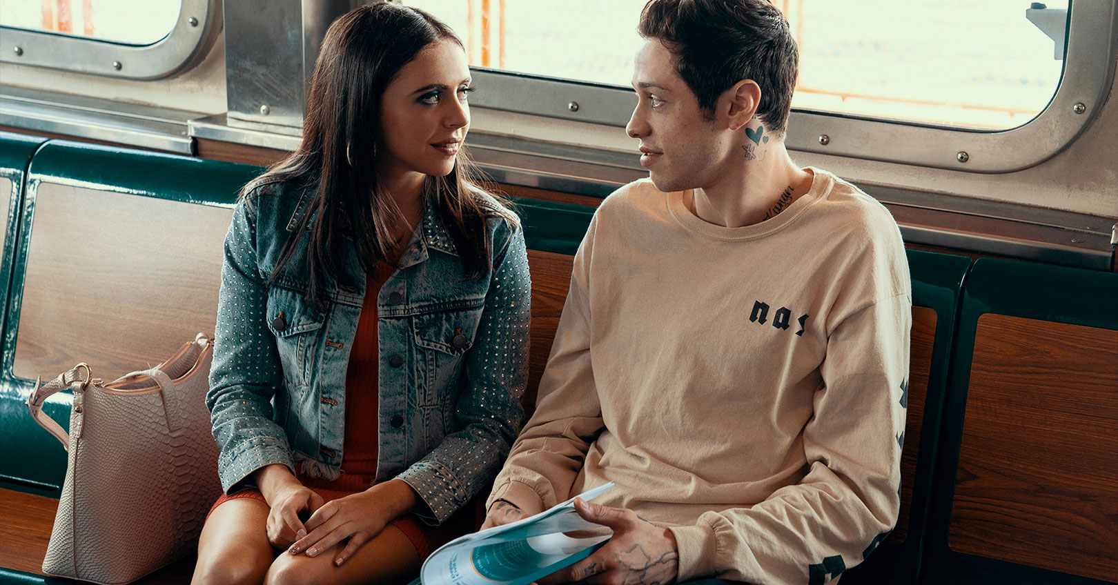 The King of Staten Island - Bel Powley and Pete Davidson