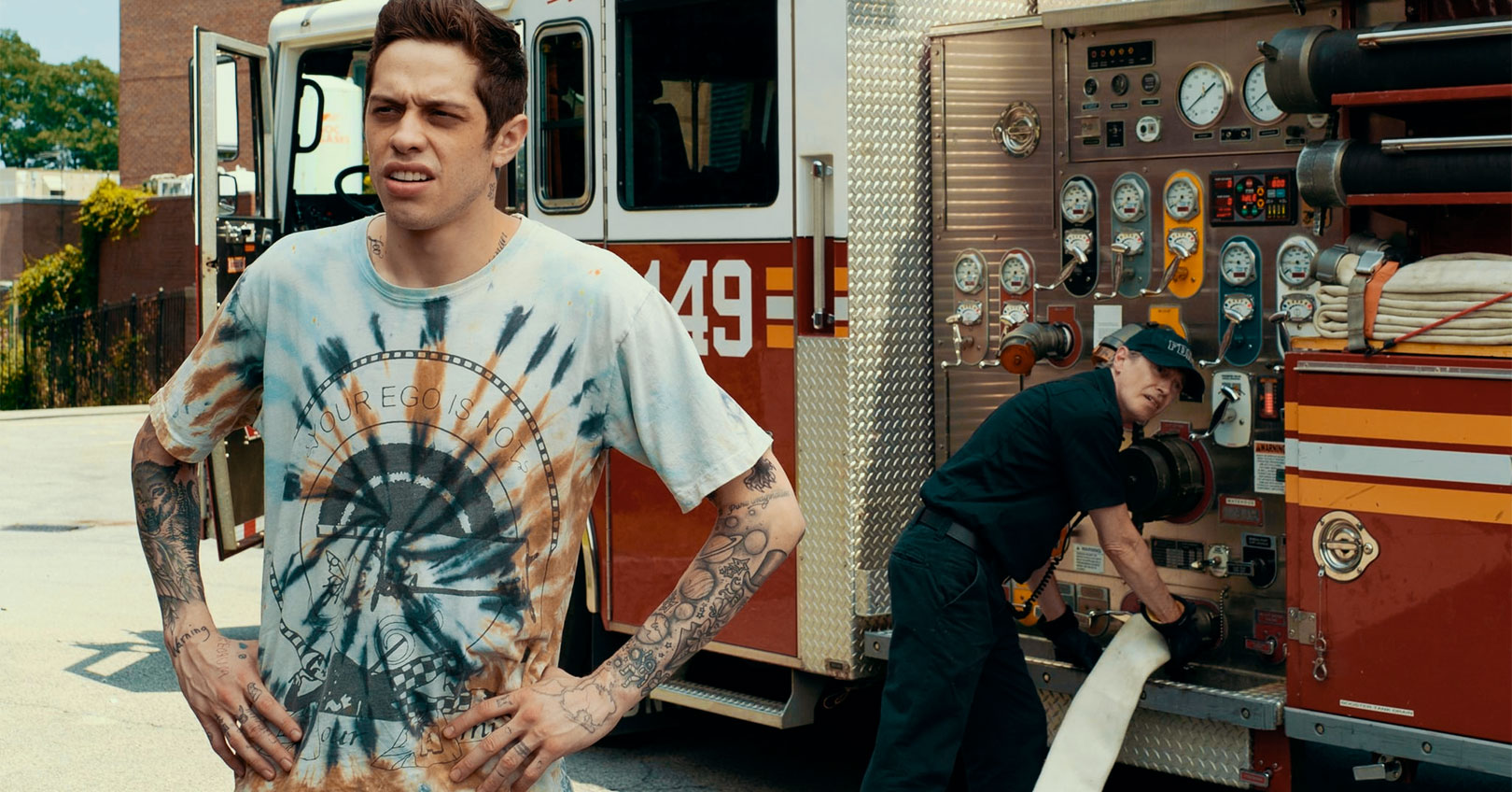 The King of Staten Island - Pete Davidson and Steve Buscemi