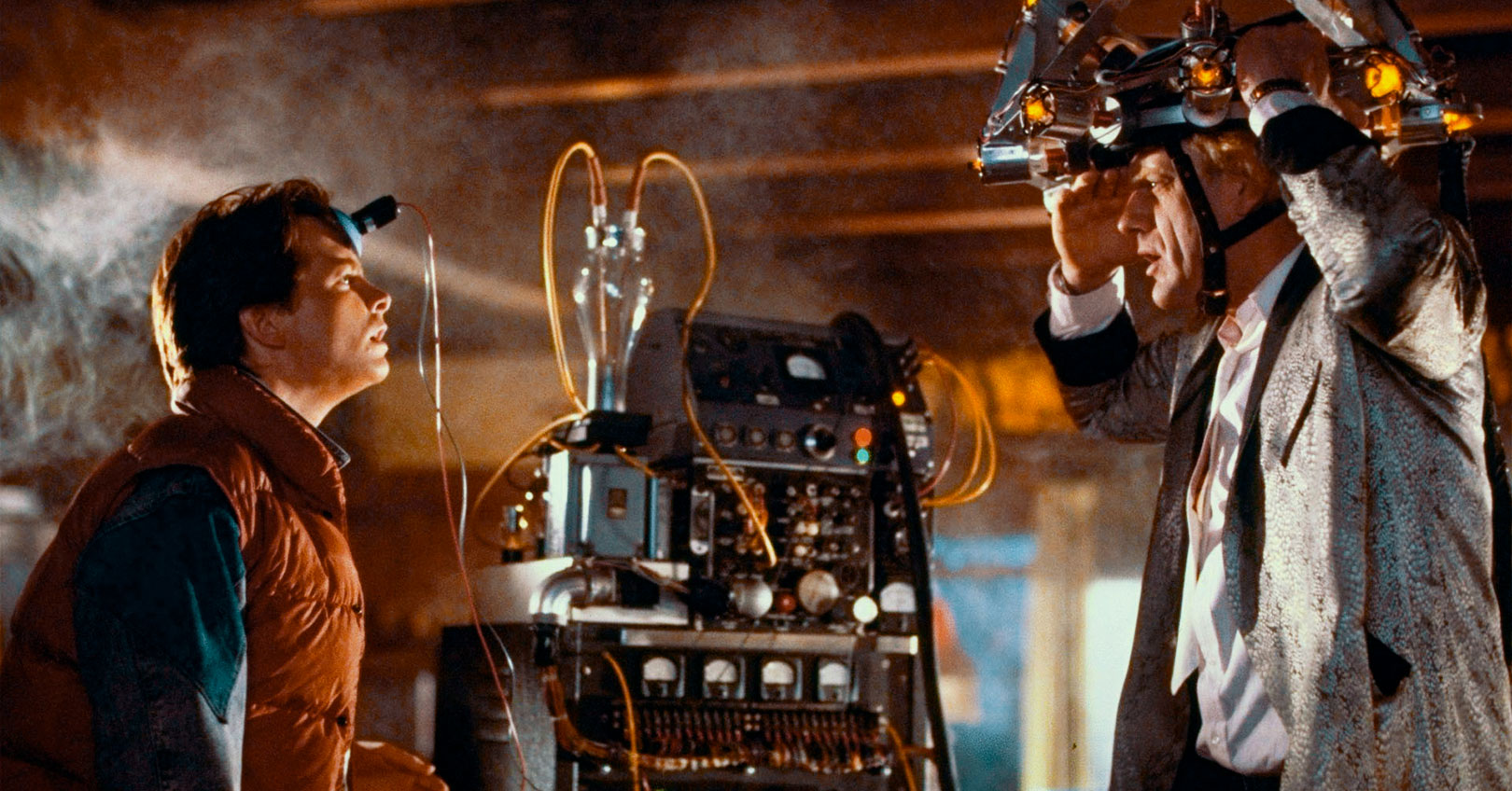 Back to the Future - Michael J. Fox and Christopher Lloyd
