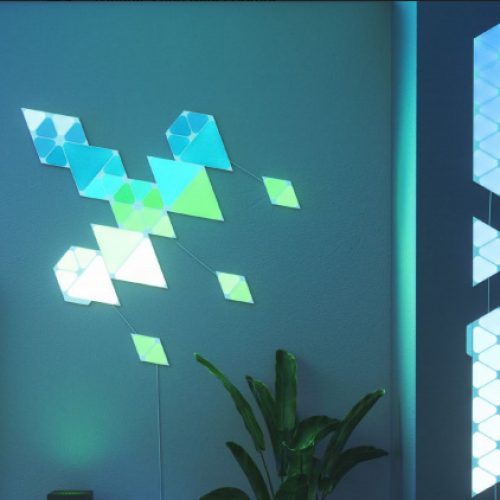 Nanoleaf gives more options with Shapes Triangles (Review)