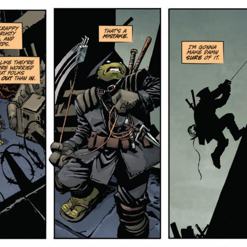 Read 7 pages from Teenage Mutant Ninja Turtles: The Last Ronin
