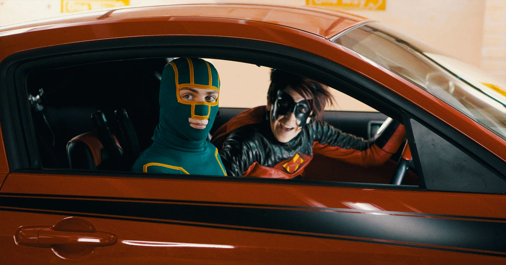 Kick-Ass - Aaron Taylor-Johnson and Christopher Mintz-Plasse