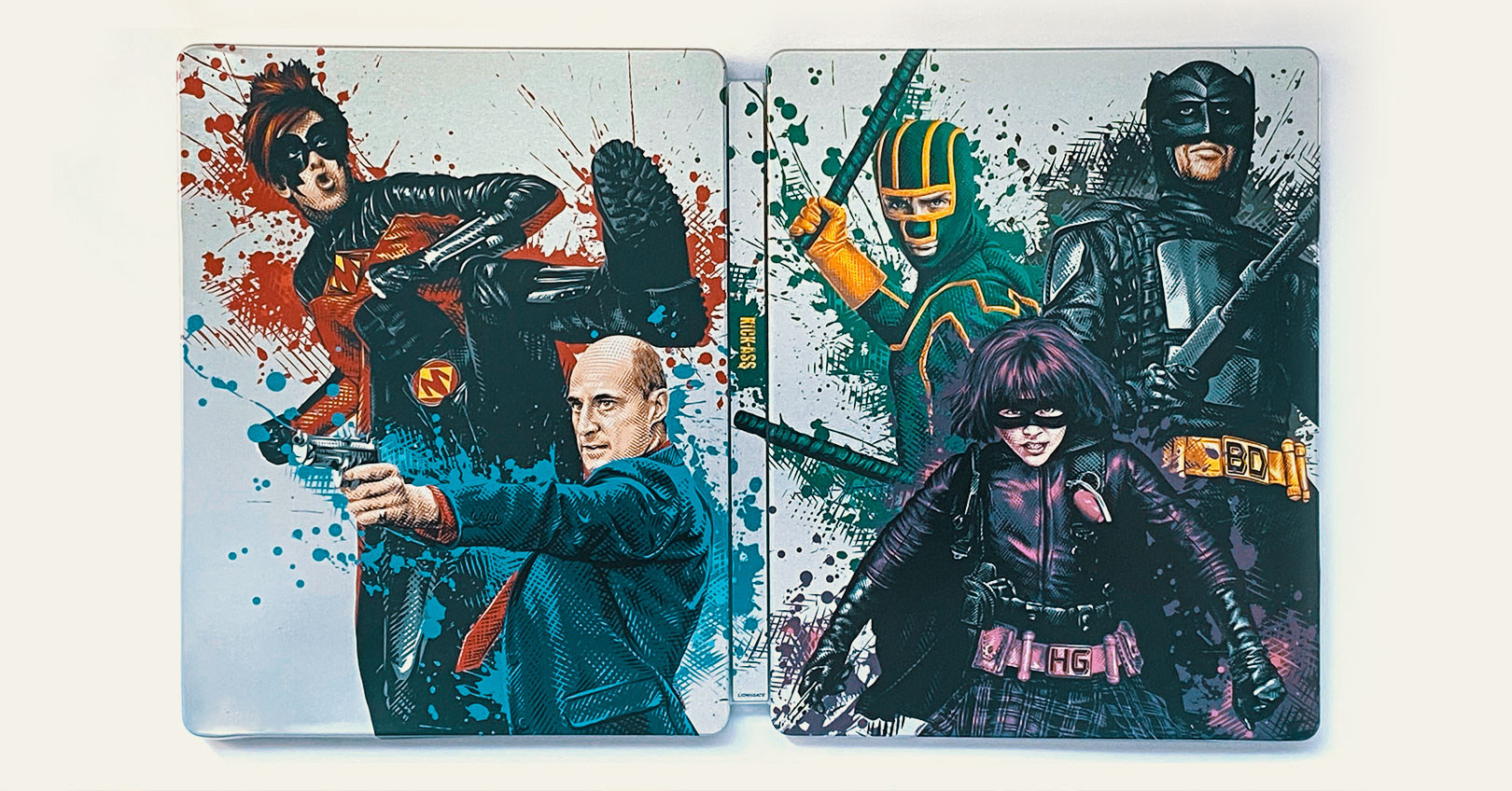 Kick-Ass 4K Ultra HD Steelbook Exterior