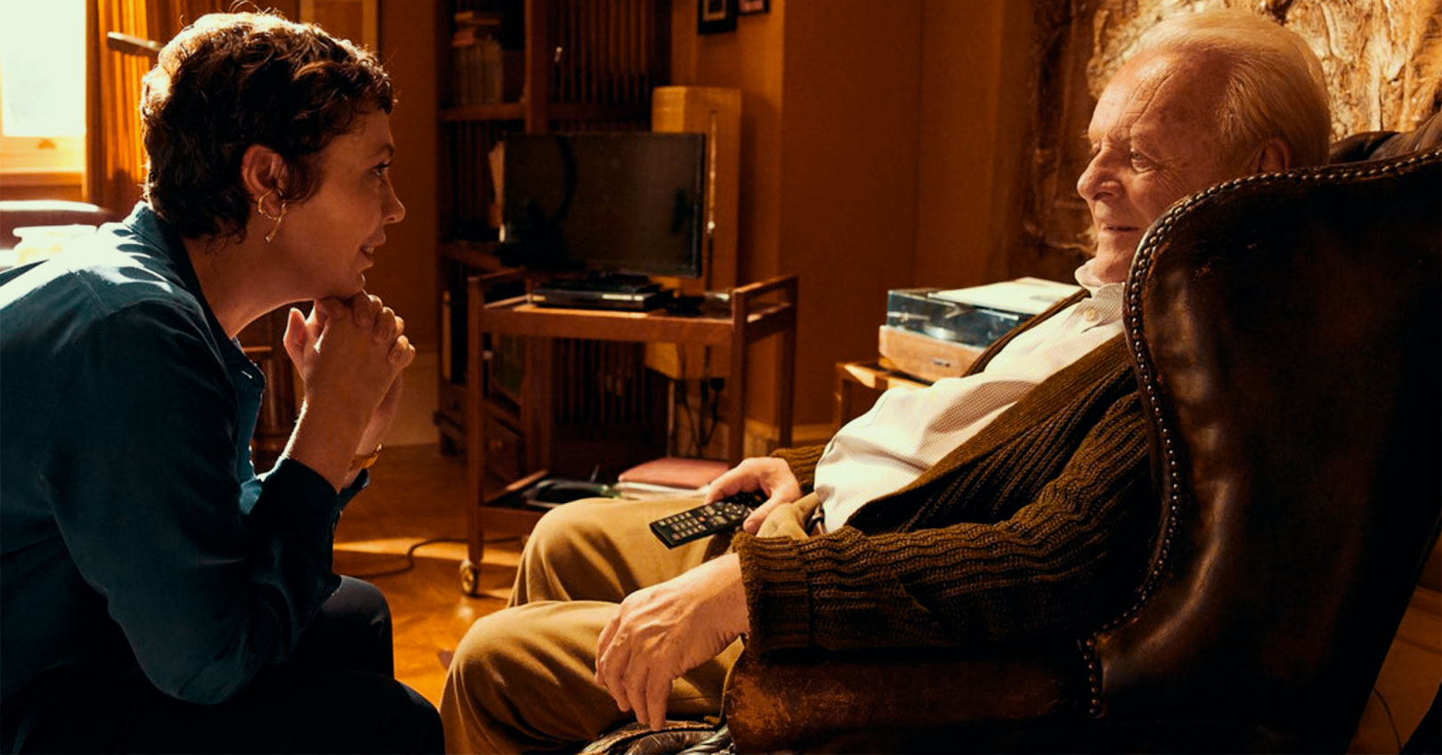 The Father - Olivia Colman and Anthony Hopkins