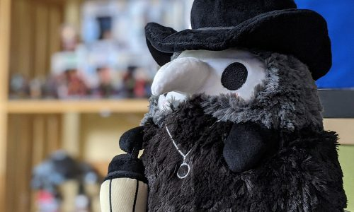 Cute Plague Doctor plush from Squishable now available