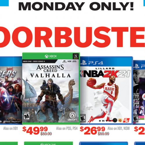 GameStop's 2020 Cyber Week Deals