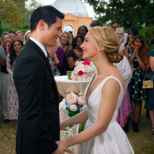 All My Life's Jessica Rothe and Harry Shum Jr interview
