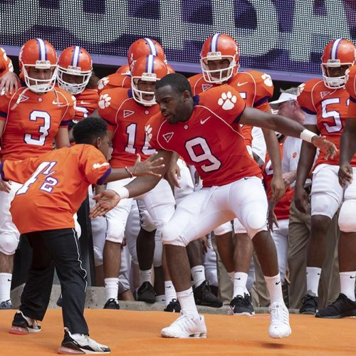Safety cast on the real-life story of Clemson University football player Ray McElrathbey