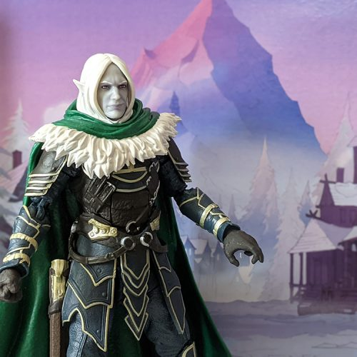 Dungeons & Dragons Forgotten Realms Drizzt & Guenhwyvar get exclusive Hasbro figures