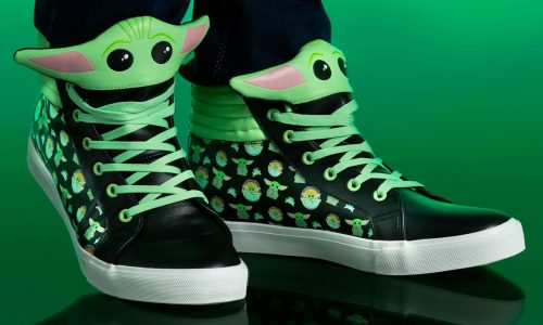 Show off Baby Yoda, Wonder Woman, Harry Potter, Avatar with these new shoes