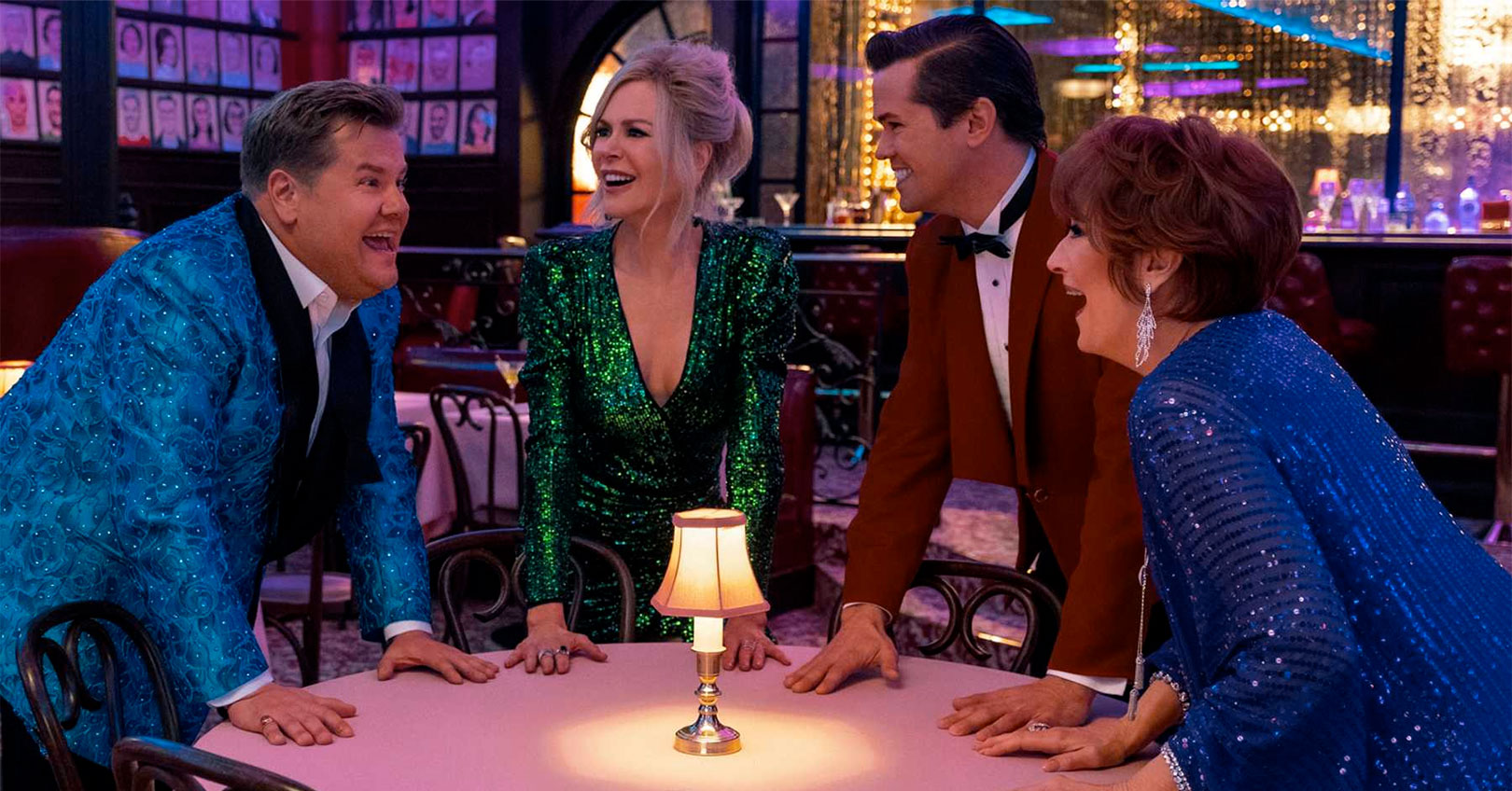The Prom - James Corden, Nicole Kidman, Andrew Rannells, and Meryl Streep