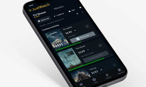 JustWatch adds new progress tracking features for shows