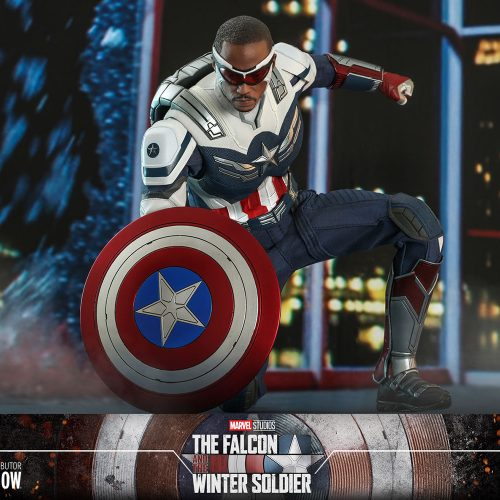 Hot Toys reveals Sam Wilson as Captain America 1/6 scale figure
